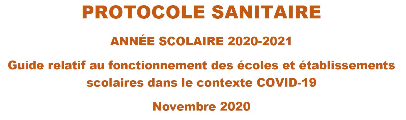 protocole-sanitaire - Rentrée 2 novembre 2020.PNG
